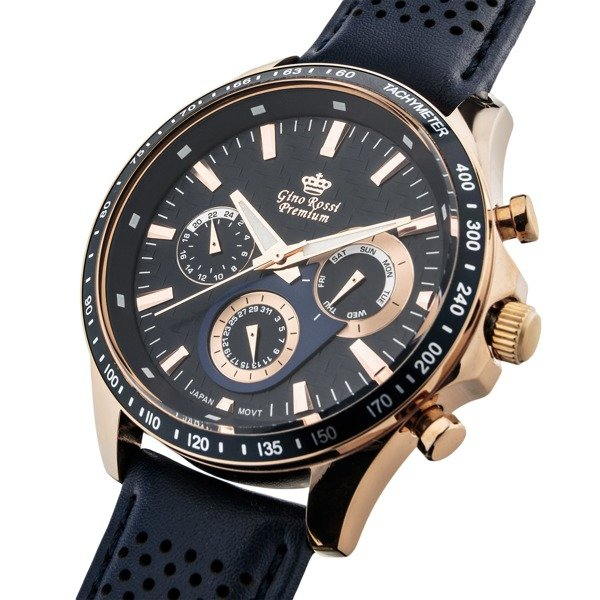 Zegarek Męski Gino Rossi Premium S523a 6f3