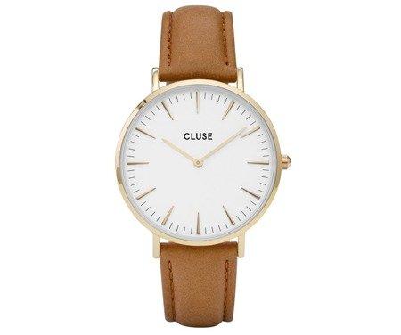 Cluse La Bohème Gold White/Mustard CL18419
