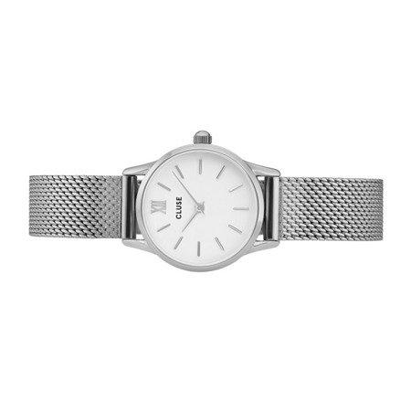 Zegarek damski Cluse La Vedette Mesh Silver/White CL50005
