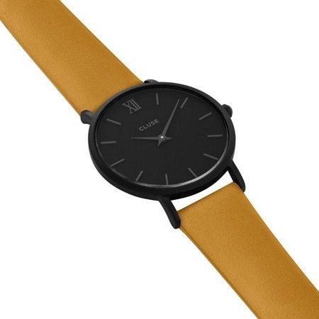 Cluse Minuit Full Black/Mustard CL30033