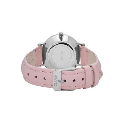 Cluse Minuit Silver White/Pink CL30005