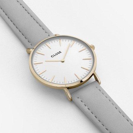 Zegarek damski Cluse La Boheme  Gold White/Grey CL18414