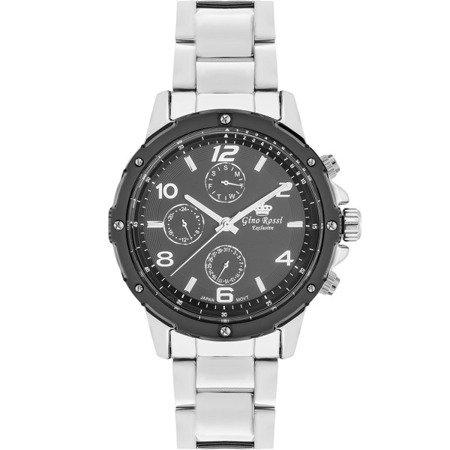 Zegarek męski Gino Rossi Exclusive E11710B-1C1