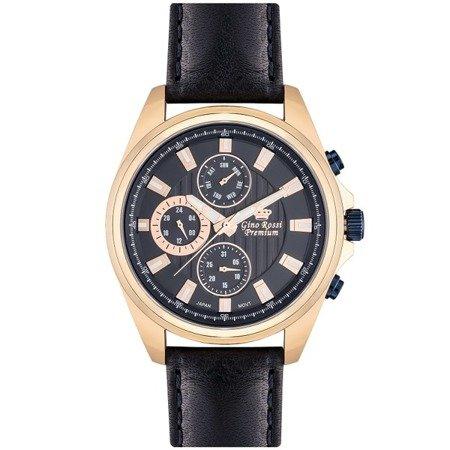 Zegarek męski Gino Rossi Premium S1122A-6F3