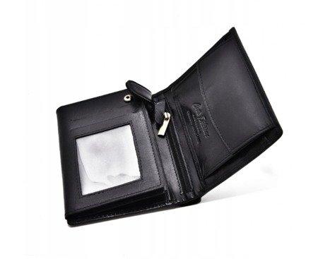 Zestaw prezentowy upominkowy męski dla niego portfel Peterson + brelok + scyzoryk
